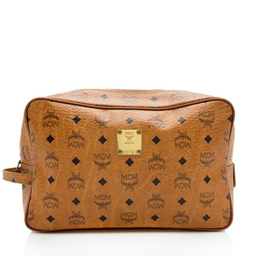 MCM Vintage Visetos Cosmetic Bag