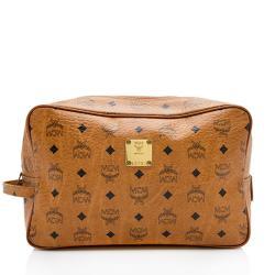MCM Vintage Visetos Cosmetic Bag