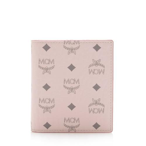 MCM Visetos Bifold Card Case
