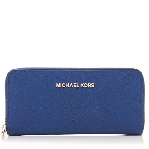 4e59e3e4afce MICHAEL-Michael-Kors-Saffiano-Jet-Set-Travel-Zip-Around-Continental -Wallet_83300_front_large_2.jpg