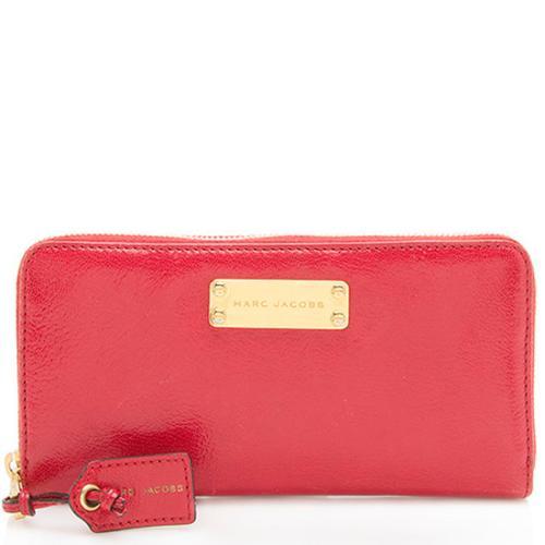 Marc Jacobs Leather Wellington Deluxe Wallet