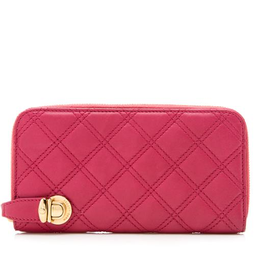 Marc Jacobs Quilted Leather Continental Wallet