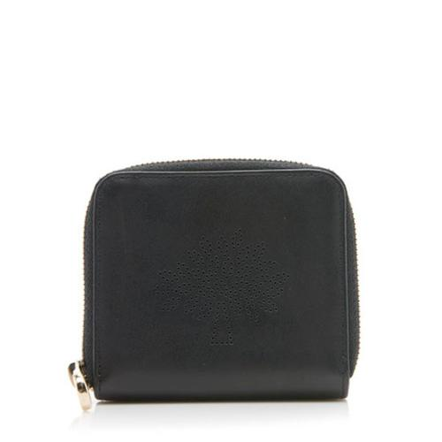 Mulberry Leather Blossom Wallet