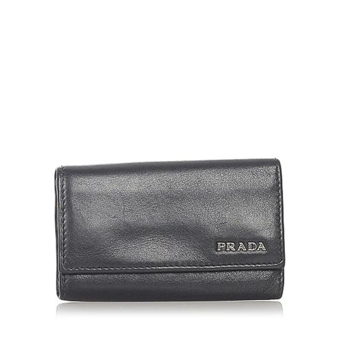 Prada Leather Key Case