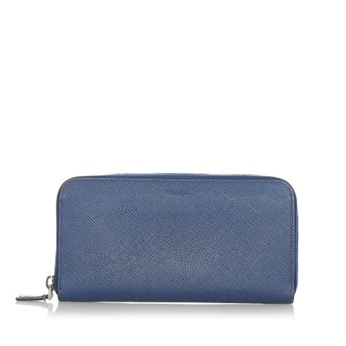 Prada Saffiano Long Wallet
