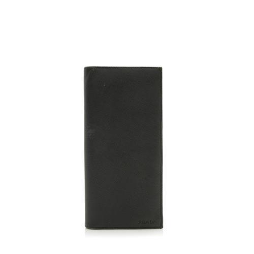 Prada Saffiano Vertical Wallet