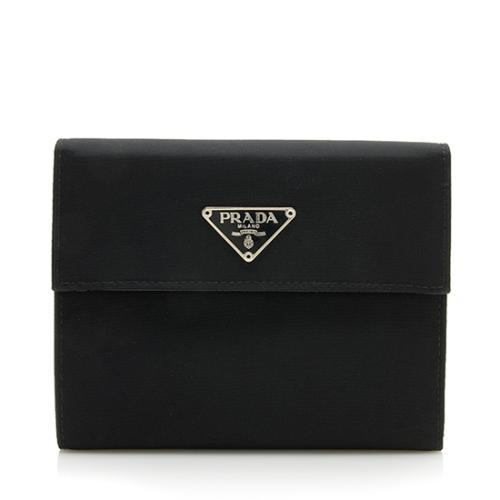 Prada Tessuto French Wallet