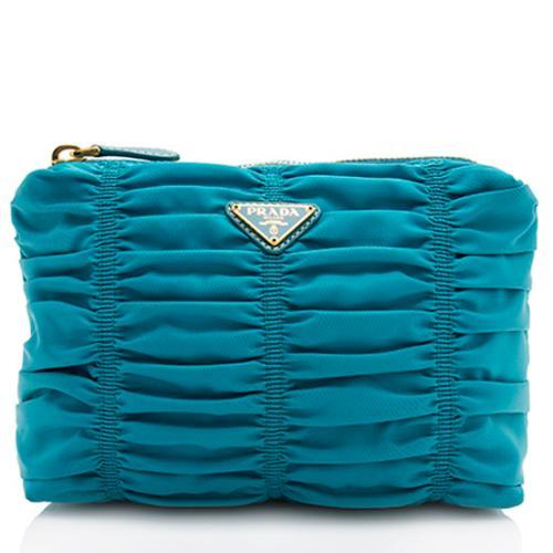 Prada Tessuto Gaufre Cosmetic Bag