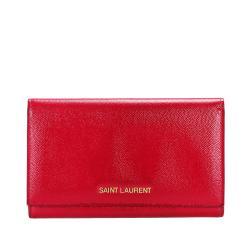 Saint Laurent Leather Long Wallet