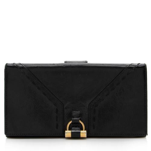 Saint Laurent Leather Muse Wallet