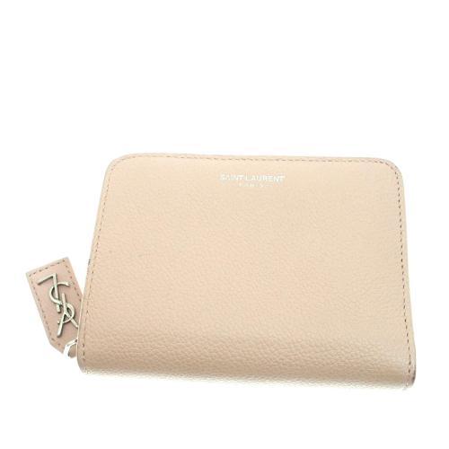 Saint Laurent Leather Small Wallet