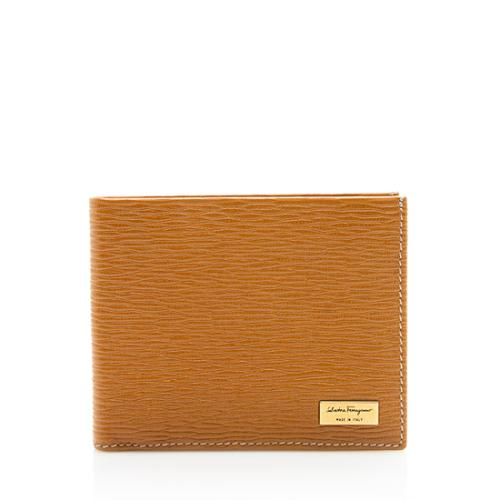 Salvatore Ferragamo Leather Bi-fold Wallet