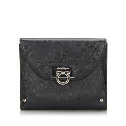 Salvatore Ferragamo Leather Gancini Small Wallet