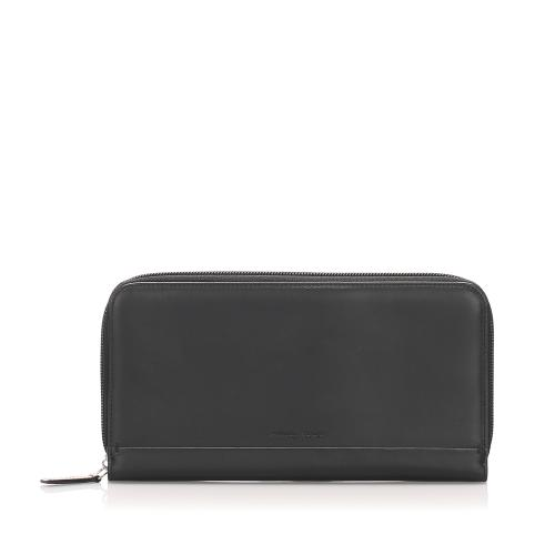 Salvatore Ferragamo Leather Long Wallet