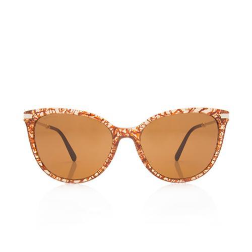 Bulgari Cat-Eye Sunglasses
