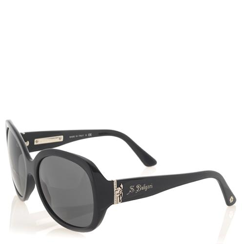 Bulgari Oversized Crystal Sunglasses