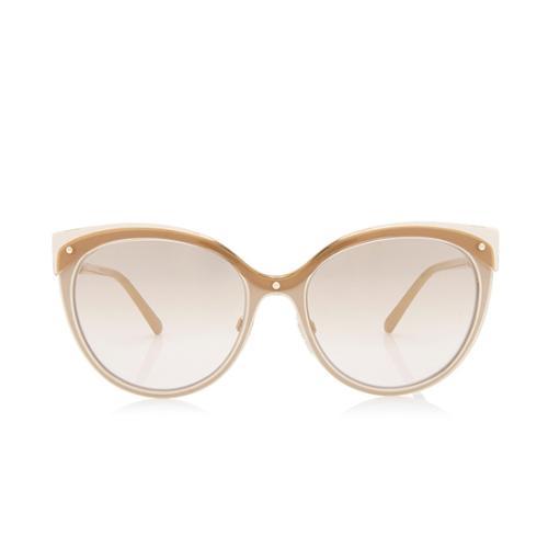 Burberry Cat-Eye Check Sunglasses
