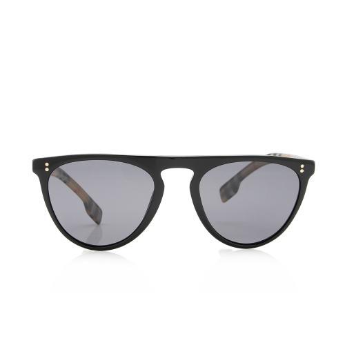 Burberry Cateye Nova Check Sunglasses