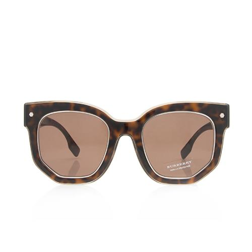 Burberry Geometric Sunglasses
