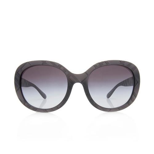 Burberry Matte Check Sunglasses