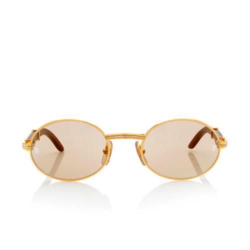 Bagatelle Palisander Cartier Vintage Rosewood Sunglasses bYf76gy