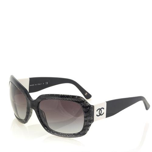 Chanel Black Lace Sunglasses