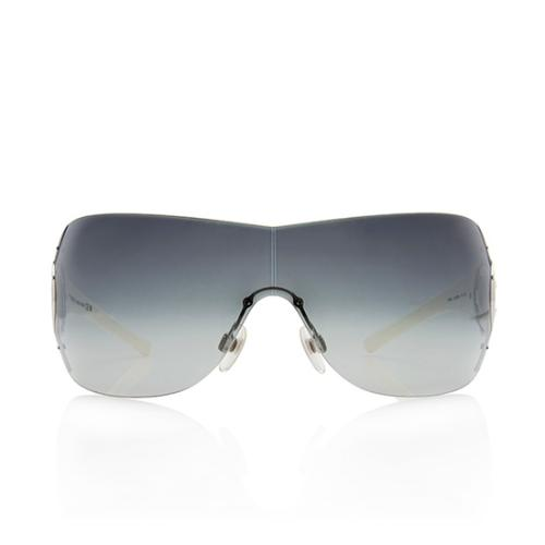 Chanel CC Logo Shield Sunglasses
