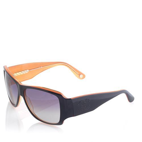 Chanel CC Strass Oversized Sunglasses