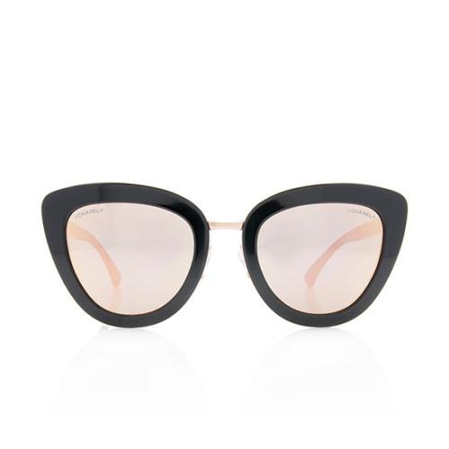 Chanel Cat-Eye Spring Sunglasses