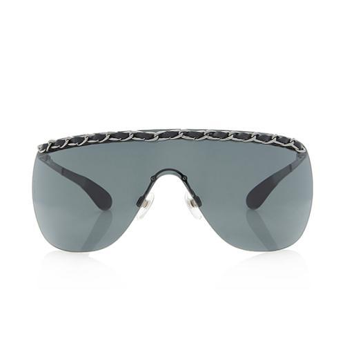 Chanel Chain Shield Sunglasses