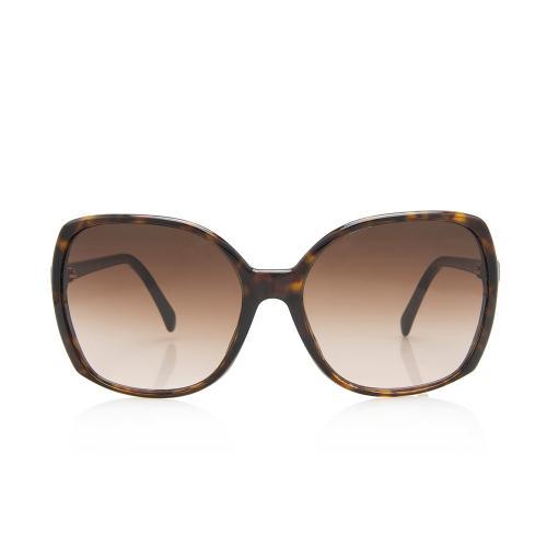 Chanel Oversized CC Sunglasses