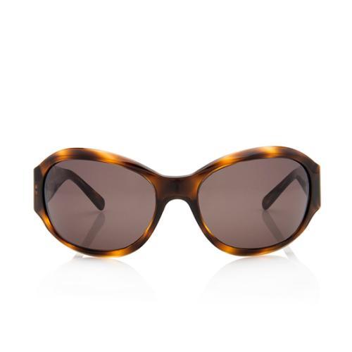 Chanel Oversized Logo Sunglasses