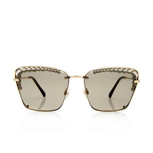 Chanel Pearl Square Sunglasses