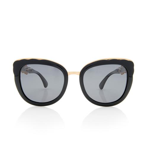Chanel Polarized Butterfly Fall Sunglasses