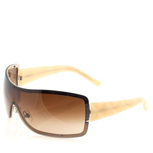 Chanel Quilted Temple Sunglasses