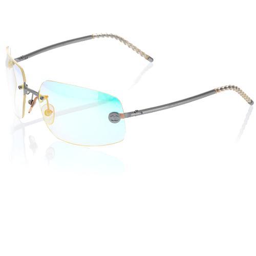 Chanel Rainbow Rimless Sunglasses