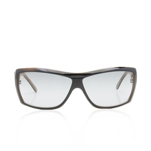 Chanel Rectangular Crystal Baguette Sunglasses