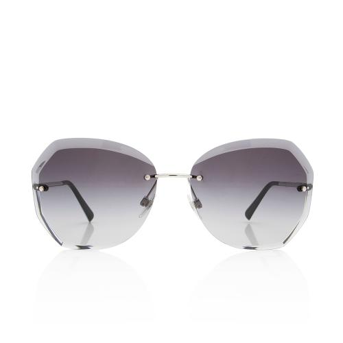 Chanel Rimless Butterfly Sunglasses