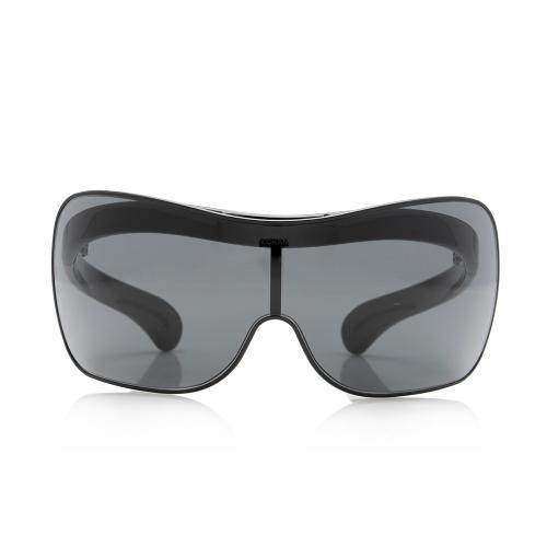 Chanel Shield Flip Up Sunglasses