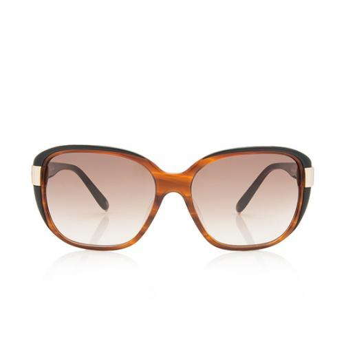 Chloe Logo Square Sunglasses