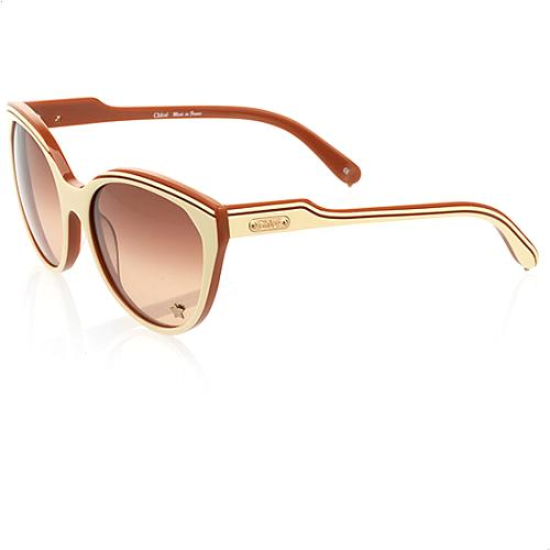 Chloe Tilia Metal Star Sunglasses