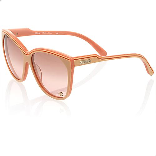 Chloe Tilia Oversized Metal Star Sunglasses