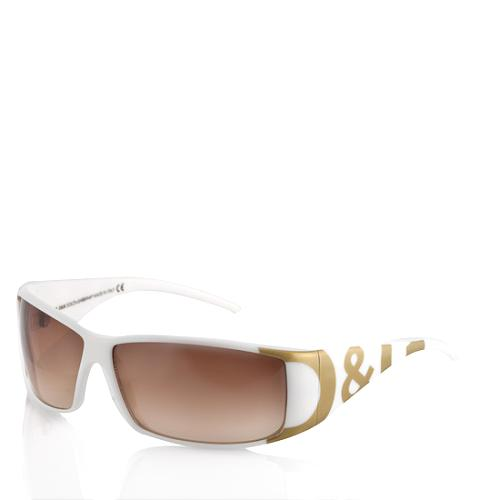 D&G Logo Arm Sunglasses