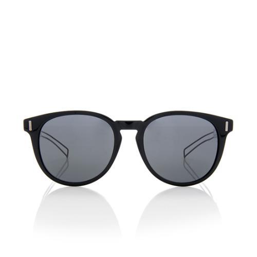 Dior Limited Edition Black Tie Round Sunglasses