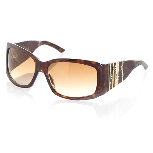 Dior Swarovski Decorated Temple Sunglasses