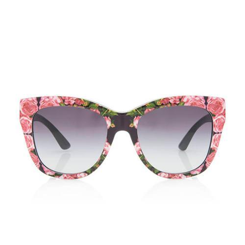 Dolce & Gabbana Mama's Roses Retro Sunglasses