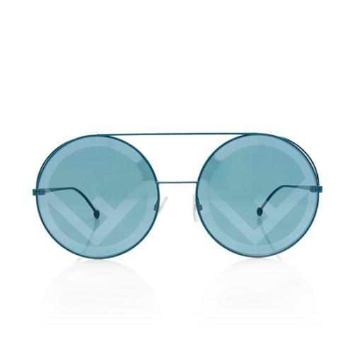 Fendi Round Fendirama Sunglasses