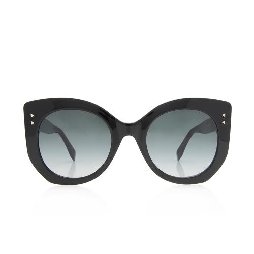 Fendi Round Peekaboo Sunglasses