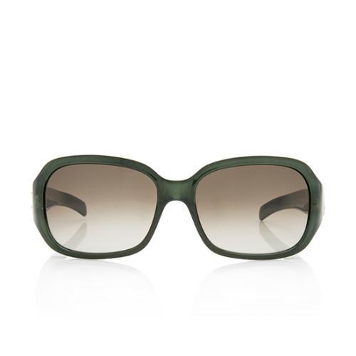 Fendi Square Crystal Sunglasses