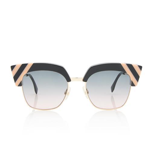 Fendi Wave Cat-Eye Sunglasses
